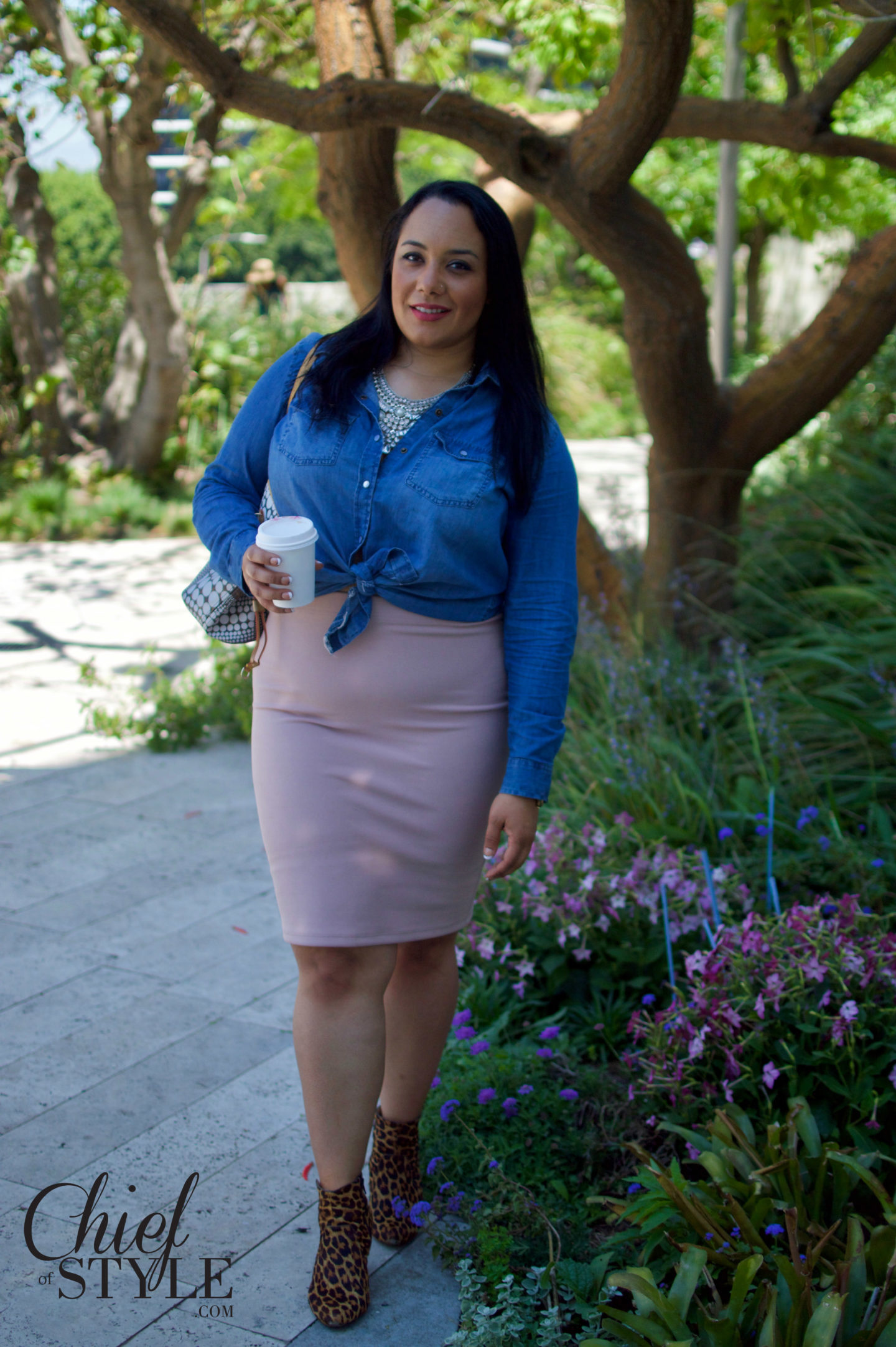 Forever 21 Plus size Sunday brunch outfit