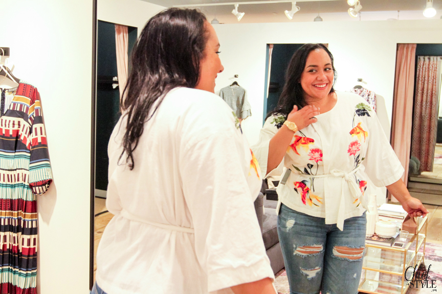 How to book a styling appointment at Eloquii Pentagon City