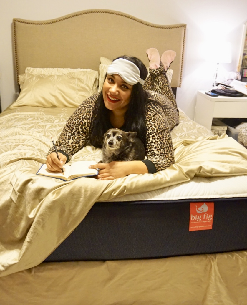 Amy Stretten, The Chief of Style and her Big Fig mattress
